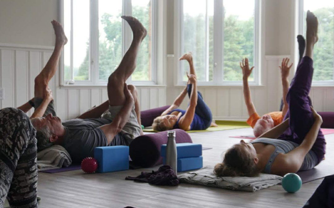 Community Therapeutic Yoga – Gentle Movement & Breathing with Dianne Levine
